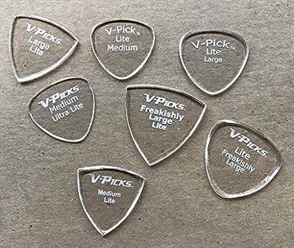 V-Picks Freakishly Large Pointed Lite Guitar Pick