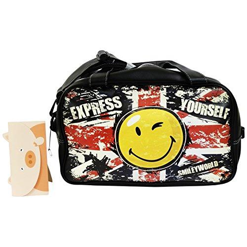 Smile Express Tasche Henkeltasche Gym Fitness Fahrt Reisetasche Sporttasche