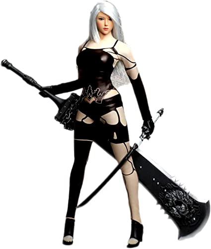 Sword for SET017 NieR:Automata 2B Clothing suit 1//6 Scale Action Figure 12/'/'