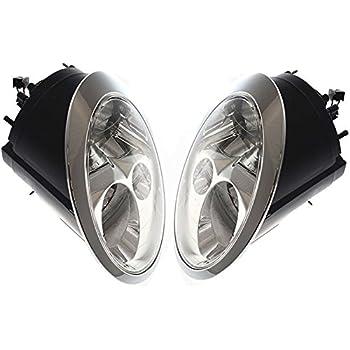 Amazon Com Mini Cooper S 02 03 04 Halogen Head Light With