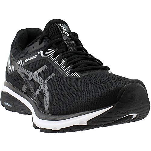 ASICS 1011A042 Men's GT-1000 7 Running Shoe Black/White by ASICS (Image #7)