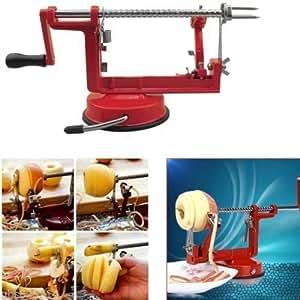 Designer Habitat - Pelador, sacacorazones y cortador de manzanas (aluminio)