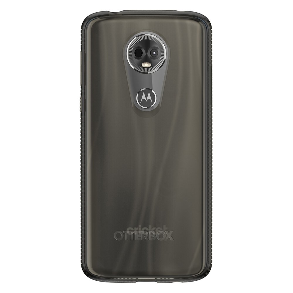 66152aa4ed33 Amazon.com  OtterBox Prefix Series Case for Moto e5 Plus - Retail Packaging  - Smoky (Clear)  Cell Phones   Accessories