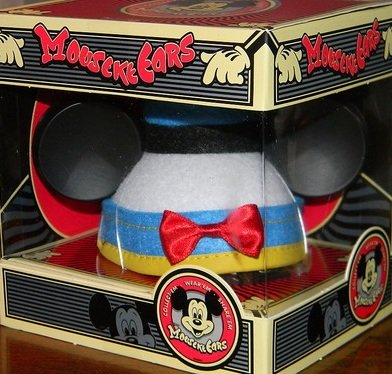 Disney MouseKeEars DONALD DUCK Mickey Ears Mini Hat Collectible THEME PARK EXCLUSIVE Limited Edition