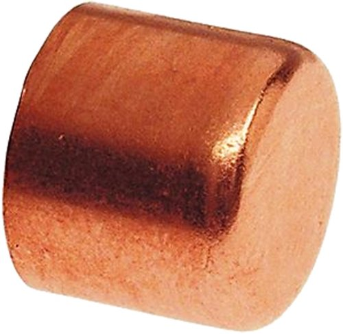 Plumber's Choice 92323 Copper Fitting, Cap, 1/2-Inch (10-Pack)