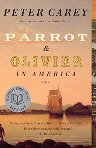 book cover of Parrot and Olivier in America
