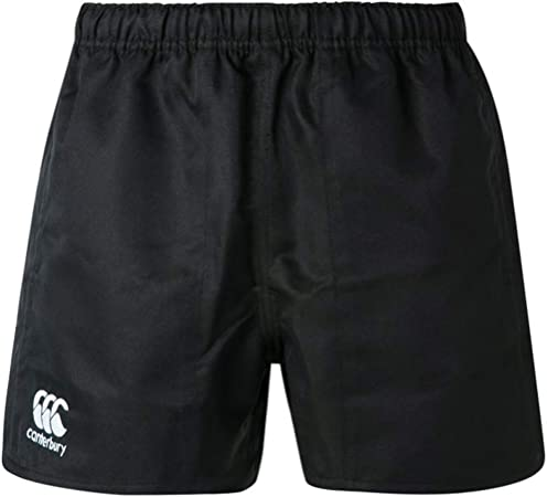 Canterbury Short de Rugby Professionnel Coton Enfants Blanc