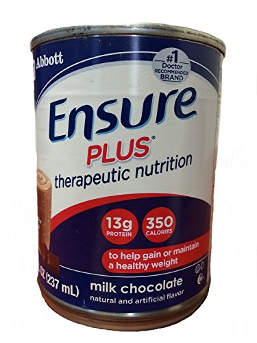 Ensure Plus Milk Chocolate Cans 24 X 8oz Case (Ensure Plus Cans compare prices)