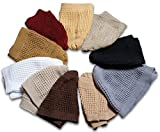 Solid Colored Elastic Skull Cap Kufi Hats (Set)