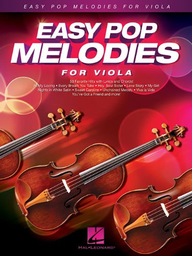 Easy Pop Melodies: for Viola ()