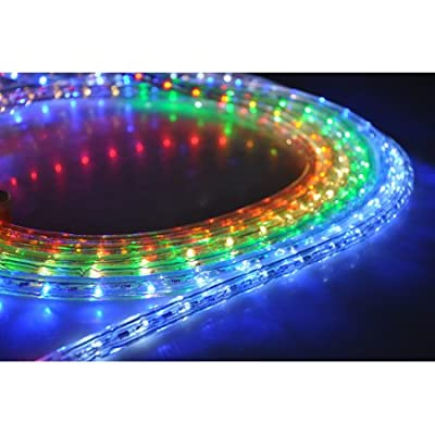 Most Popular 150ft 2-wire LED Rope Lights Various Colors Great for Indoor and Outdoor Use
