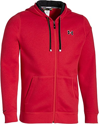 Under Armour Herren Kapuzenjacke CC Storm Rival Full-Zip, rot (red), L, 1250784