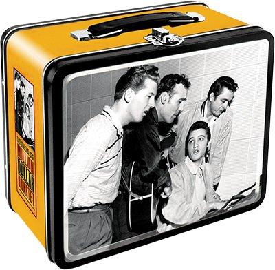 Aquarius Million Dollar Quartet Large Tin Storage Fun (Rock Quartet Gem)