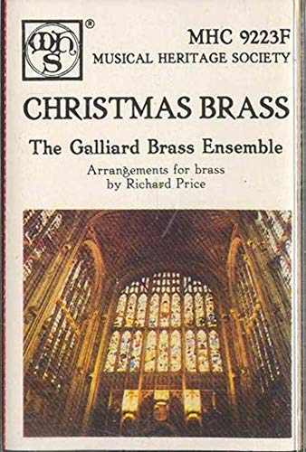 THE GALLIARD BRASS ENSEMBLE: Christmas Brass Cassette Tape