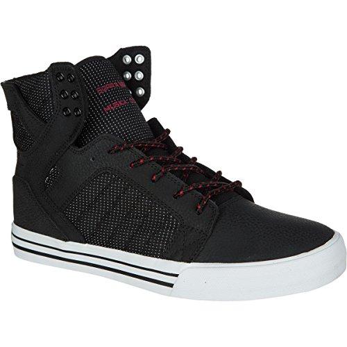 Espacio Libre 100% Originales Suministro De Venta SupraSkytop - Sneaker Alta Uomo (Black / Red - White) Ofertas De Venta GkkNrA340D