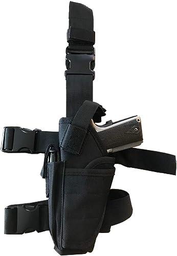 VTOSEN Drop Leg Holster, Molle Tactical Pistol Thigh Gun Holster, Tactical Leg Holster, Airsoft Gun Drop Thigh Holster, Left & Right Hand Adjustable,...
