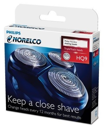 Philips Norelco HQ9 SpeedXL Replacement Heads, 2 Pack