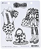 Ranger DYR51275 These Boots are Made Dyan Reaveley's Dylusions Cling Stamp Collections, 8.5'' by 7'', Clear