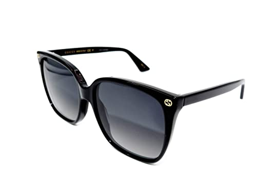 9b7090fdc2c Image Unavailable. Image not available for. Color  Authentic GUCCI Polarized  Black Cat Eye Sunglasses ...