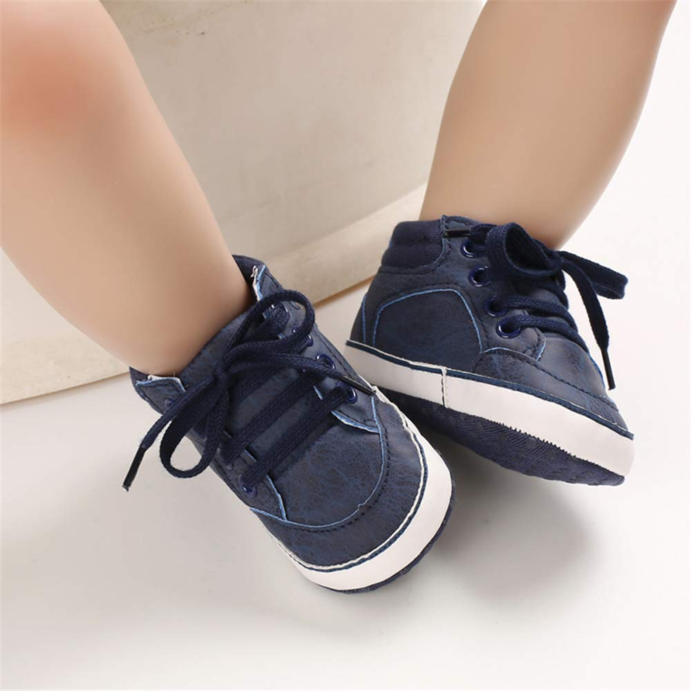 Baby Boys Girls Shoes Non Slip Soft Sole High-Top Ankle Boots Sneakers Infant Toddler First Walker Winter Crib Shoes