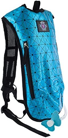 Dan-Pak Hydration Pack 2l- Holographic Turquoise Blue