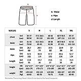 Lixada Men's 2-in-1 Running Shorts 5'' Active