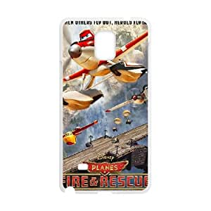 Planes Fire Rescue Samsung Galaxy Note 4 Phone Case White as a gift H6982808