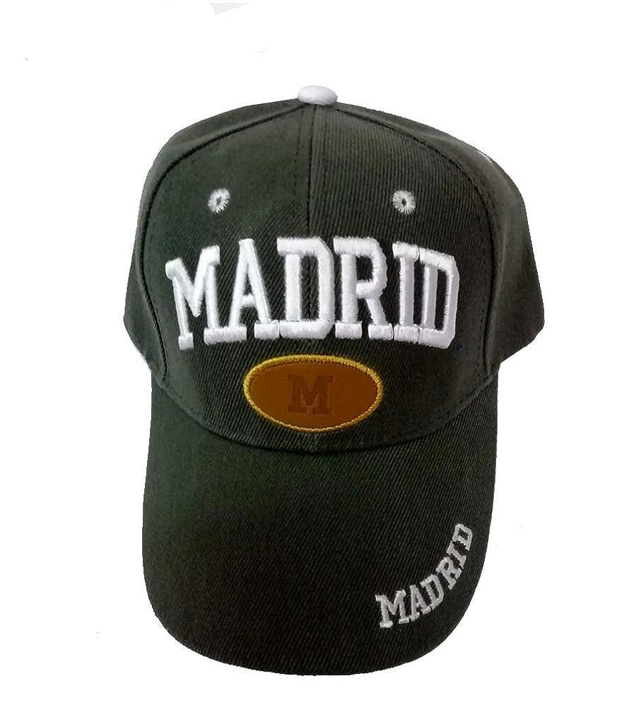 ZiNGS Gorra Madrid Unisex - Gris: Amazon.es: Ropa y accesorios