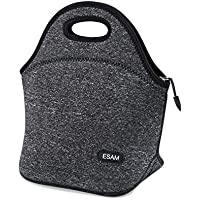 Neoprene Lunch Bag Insulated Lunch Bag Tote Bags Boxes for Boys Kids Men Women Adults Girls Teens for School Work Outdoor