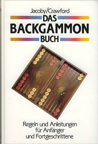 The Backgammon Game Jacoby Crawford 9783881993517 Amazon Com Books