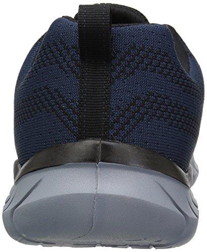 Synergy black 0 2 2 Baskets Skechers Femme Navy 6Aqd6w