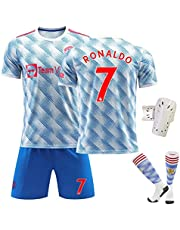 Ronaldo NO.7 Soccer Jersey 2022 Manchester United New Season Ronaldo Home (Away) Football Jersey Children and Adult Training Football Jersey