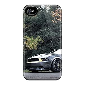 Cute High Quality Apple Iphone 4/4S Case Cover Cars Ford Mustang Gt Case