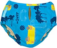 Charlie Banana 2-in-1 Swim Diaper and Training Pant Malibu, Large