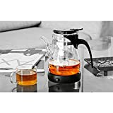 Portable Electric Desktop Coffee Warmer Tea Coffee Milk Heater Cup Mug Warmer Warming Trays (Black)