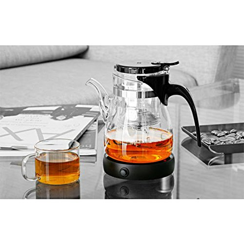 [해외]휴대용 전기 데스크탑 커피 따뜻한 커피 따뜻한 우유 컵 히터 컵 따뜻한 따뜻한 쟁반 (검정)/Portable Electric Desktop Coffee Warmer Tea Coffee Milk Heater Cup Mug Warmer Warming Trays (Black)