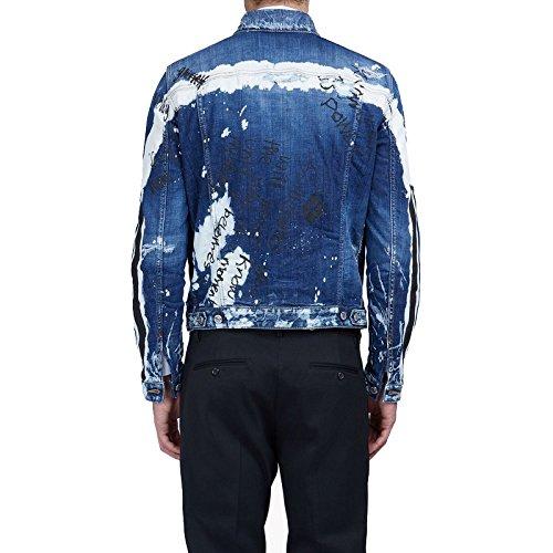 ECTIC 2017 New Men 100% Cotton Slim Fit Denim Jacket Casual Coats