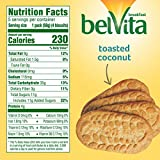 belVita Toasted Coconut Breakfast Biscuits, 6 Boxes of 5 Packs