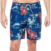 St. Johns Bay Pattern Trunks Size XXL Blue Aloha New