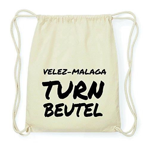 JOllify VELEZ-MALAGA Hipster Turnbeutel Tasche Rucksack aus Baumwolle - Farbe: natur Design: Turnbeutel Hfpfnve