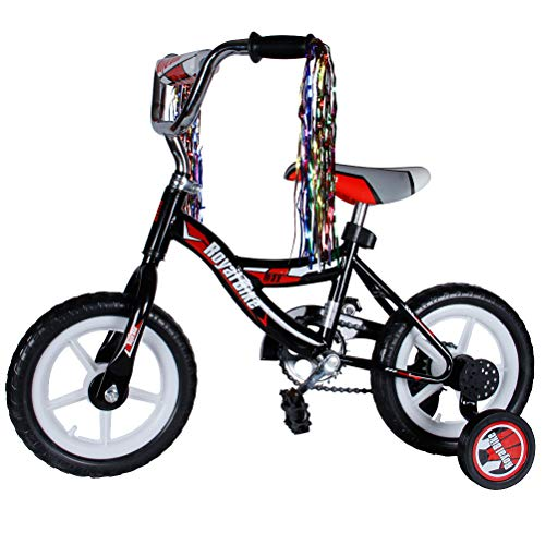 HAPTOO Kids Bike for Girls Age 2-6 Years Old, Easy Assembly Kids Bike, Training Wheels, Best Gift for Children