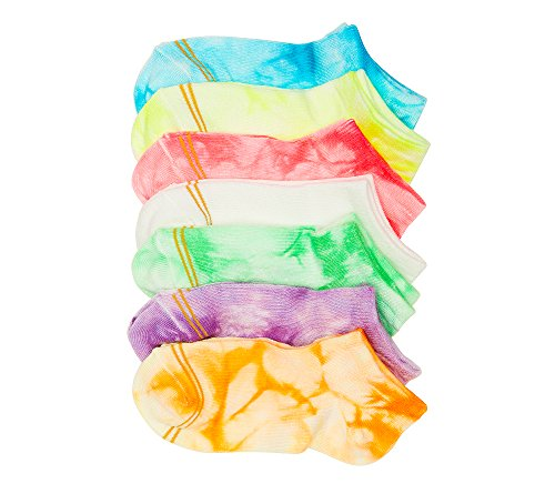 ck Assorted Tie-Dye Liner Socks M (7.5-8) (Gold Toe Liner Socks)