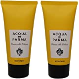 Acqua Di Parma Colonia Body Cream lot of 2 each 2.5oz Bottles. Total of