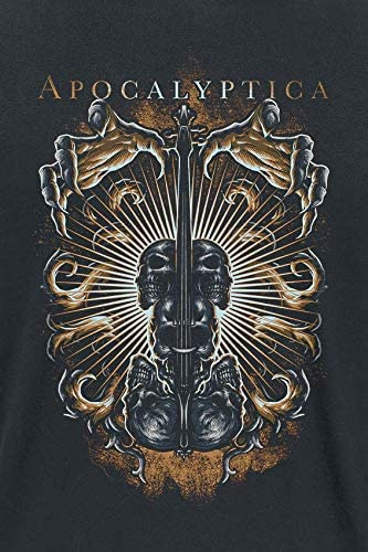 Apocalyptica T Shirt Symphony of Destruction Band Logo Nue offiziell Herren