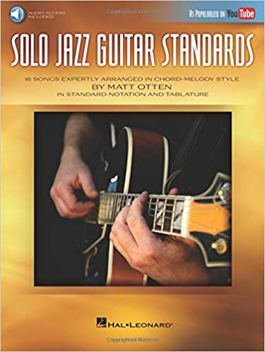 Amazon Solo Jazz Guitar Standards 16 Songs Expertly Arranged