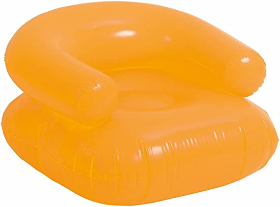 eBuyGB Inflatable Beach Lounge Chair Red