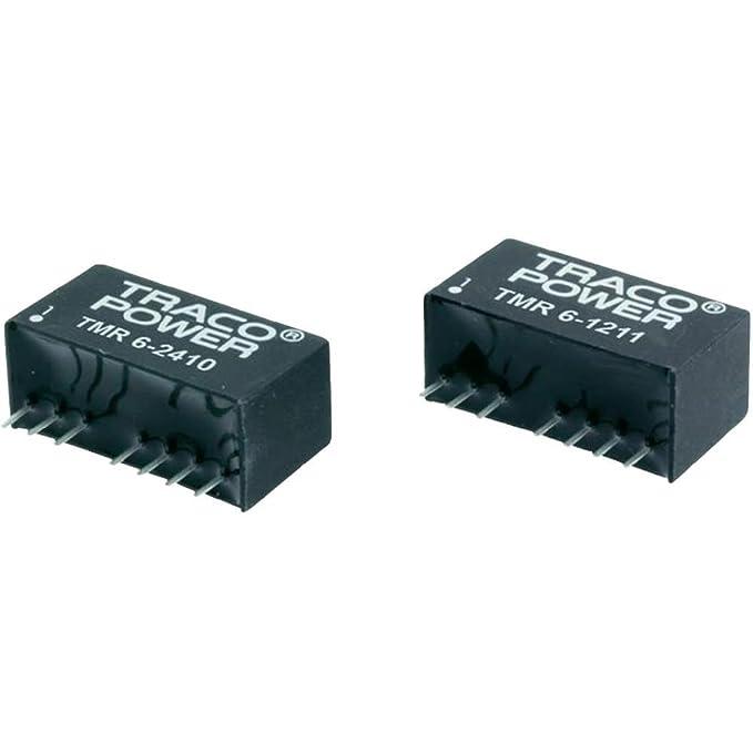 Convertisseur DC/DC pour C.I TracoPower TMR 6-1221 Nbr. de sorties: 2 x 12 V/DC 5 V/DC, -5 V/DC 600 mA 6 W 1 pc(s)