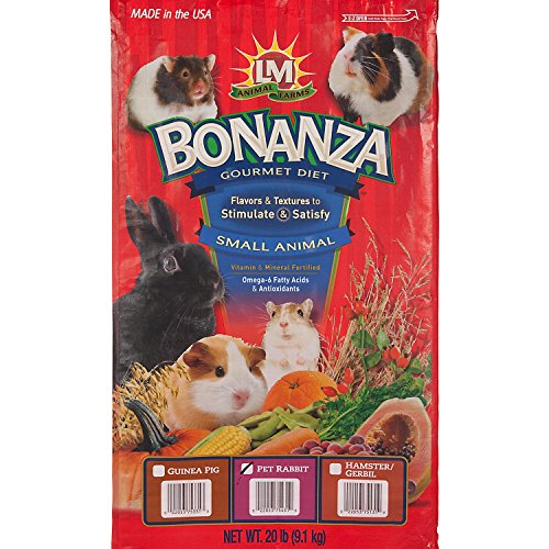 LM Animal Farms Bonanza Bounti-Buffet Rabbit Superior Gourmet Food (20 lbs.)