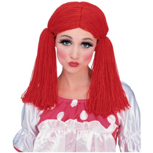 Rag Doll Wig Costume (Raggedy Ann And Andy Party Supplies)