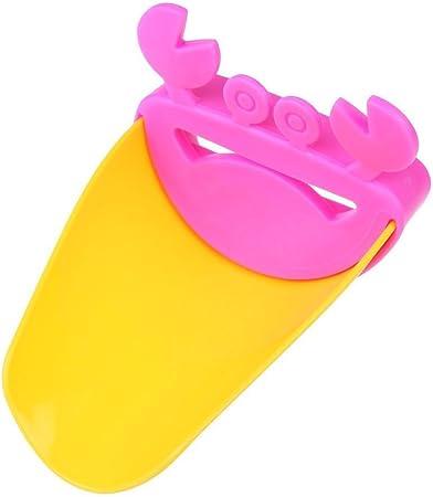 Enfant Eau du Robinet Extension Se Laver les Mains pour B/éb/é en Forme de Crabe